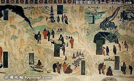 敦煌旅游莫高窟壁画简介