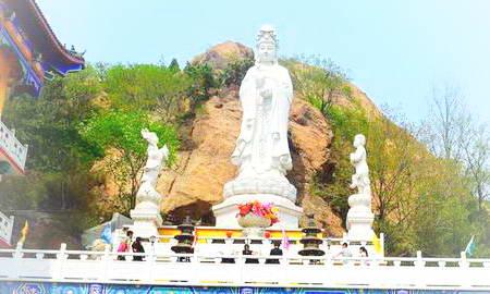 锦州北普陀山风景名胜旅游照片