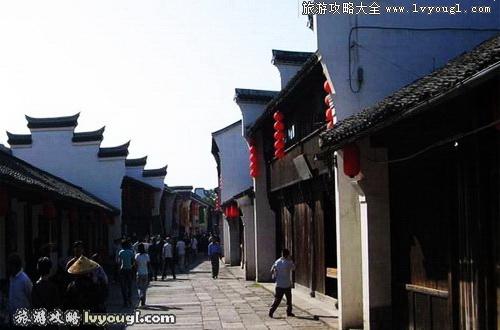 海宁盐官古镇风景照片