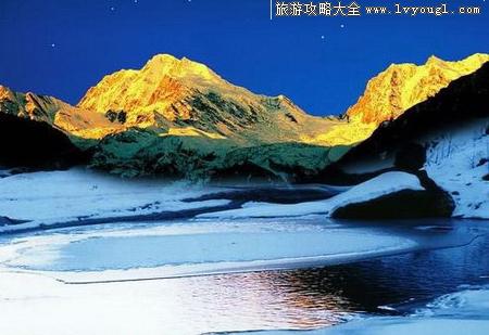 海螺沟风景区自然景观