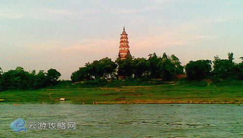 广西第一高古塔——桂平东塔