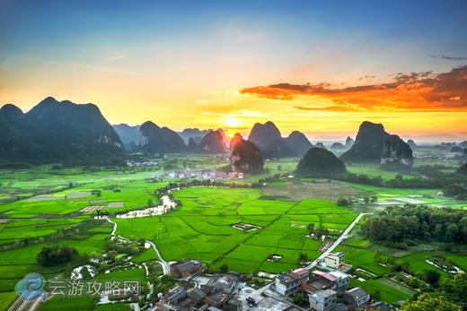 桂林会仙镇绝美风景图片欣赏
