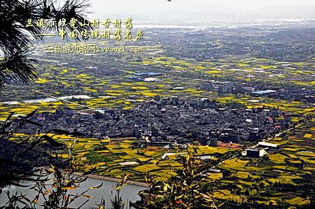 兰溪虹霓山古村落,离兰溪市区15公里 ,座落在景色优美的白露山风景区