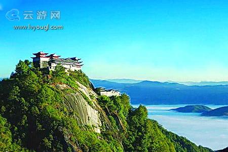 冬天保山风景图片