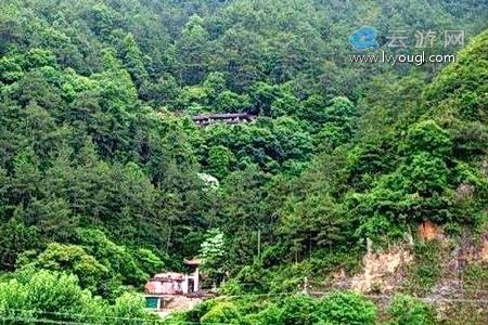 龙岩长汀朝斗岩景区
