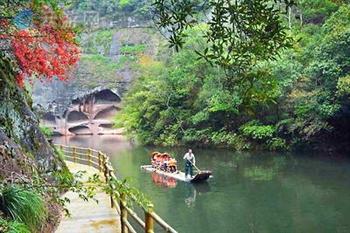 三明泰宁九龙潭 九龙潭风景区位于福建省泰宁县世界自然遗产,世界